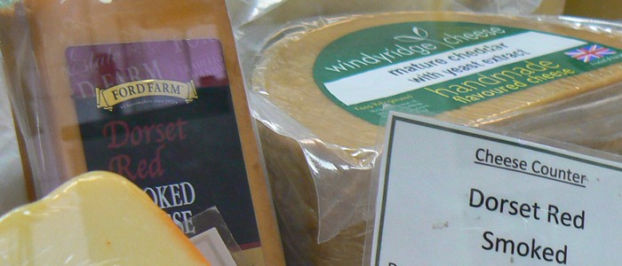 Come and try our excellent selection of fine Dorset cheeses