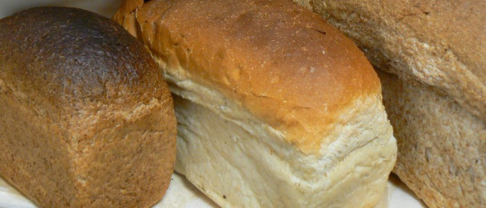A delicious variety of fresh bread is available daily
